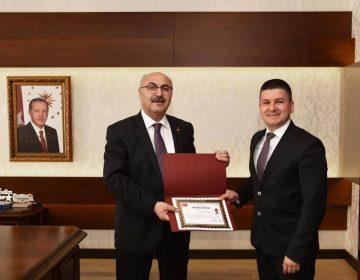 Aydın Valimiz Yavuz Selim Köşger ile - 2019
