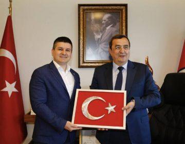 İzmir Konak Belediye Başkanı Abdül Batur ile - 2019
