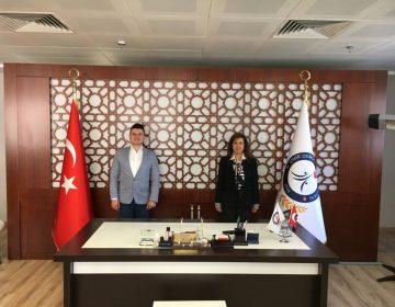 İzmir Demokrasi Üniversitesi Rektörü Prof. Dr. Bedriye Tunçsiper ile - 2020
