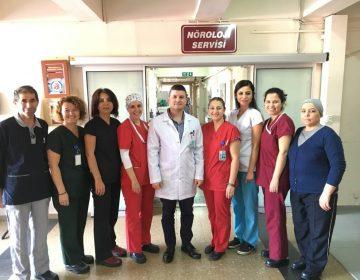 Aydın Devlet Hastanesi Nöroloji Servisi Ekibimizle – 2017