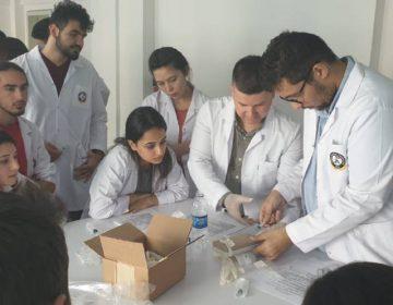 İzmir Demokrasi Üniversitesi Tıp Öğrencileri ile Pratik Uygulama Dersi - 2019