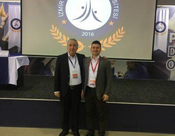 Uluslararası İzmir Demokrasi Üniversitesi Tıp Kongresi'nde Prof. Dr. Kürşad Kutluk ile - 2019